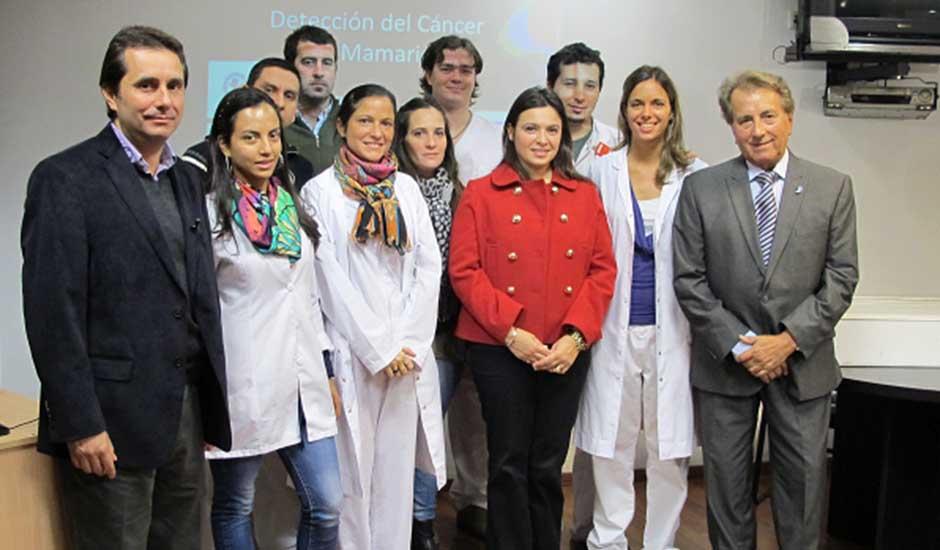 Residentes en Diagnóstico por Imágenes Mamarías